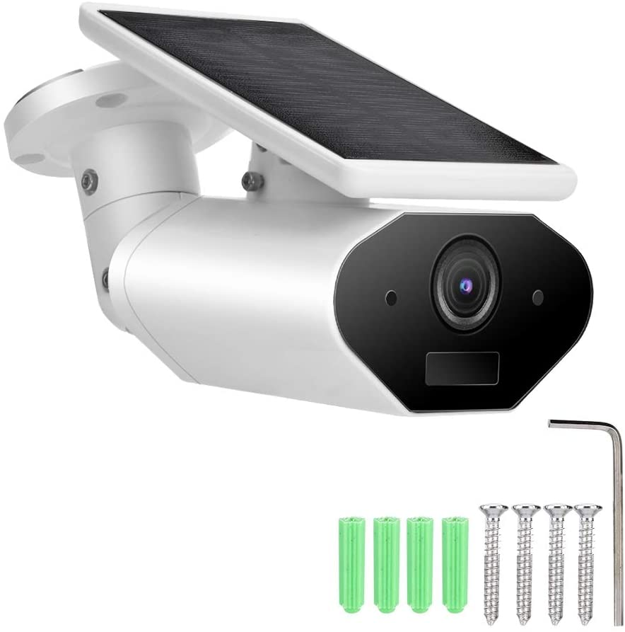 Smart Solar Powered Wireless IP Camera 1080P IP65