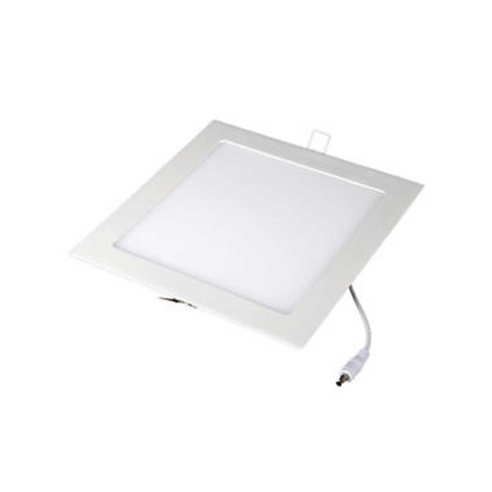 Mini  Panel Recessed 12W Square 3000K 2yrs wnty