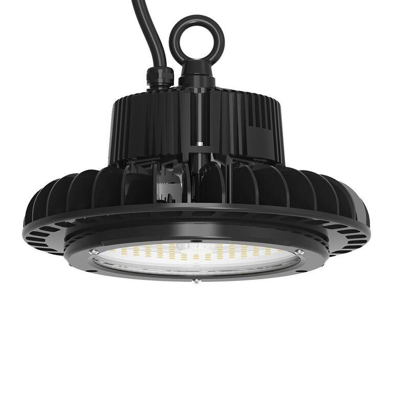 200W UFO Highbay with Samsung LED & 1-10V Dimmable Driver, 5700K