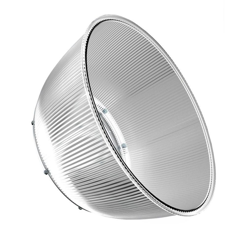 PC Highbay Reflector, Dimension: 226 x 260mm, Beam Angle 90, For 100W, 150W and 200W UFO Highbay