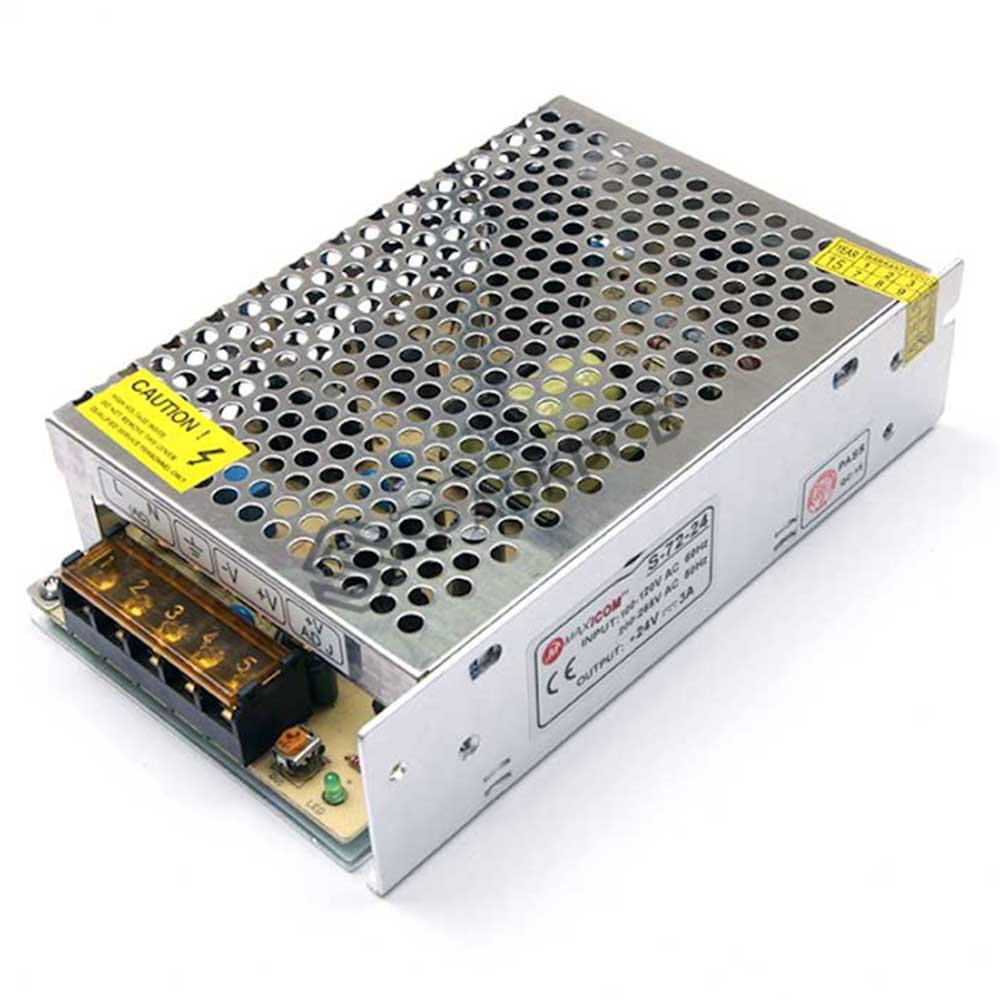 DC 12V 10A 120W, METAL SMPS DRIVERS FOR LED STRIPS