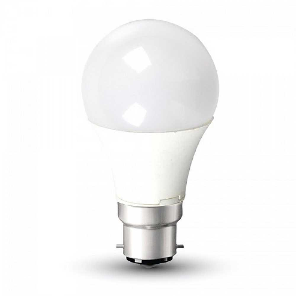 A60 12W LED Bulbs, Lumens: 960, B22 base, 6000K