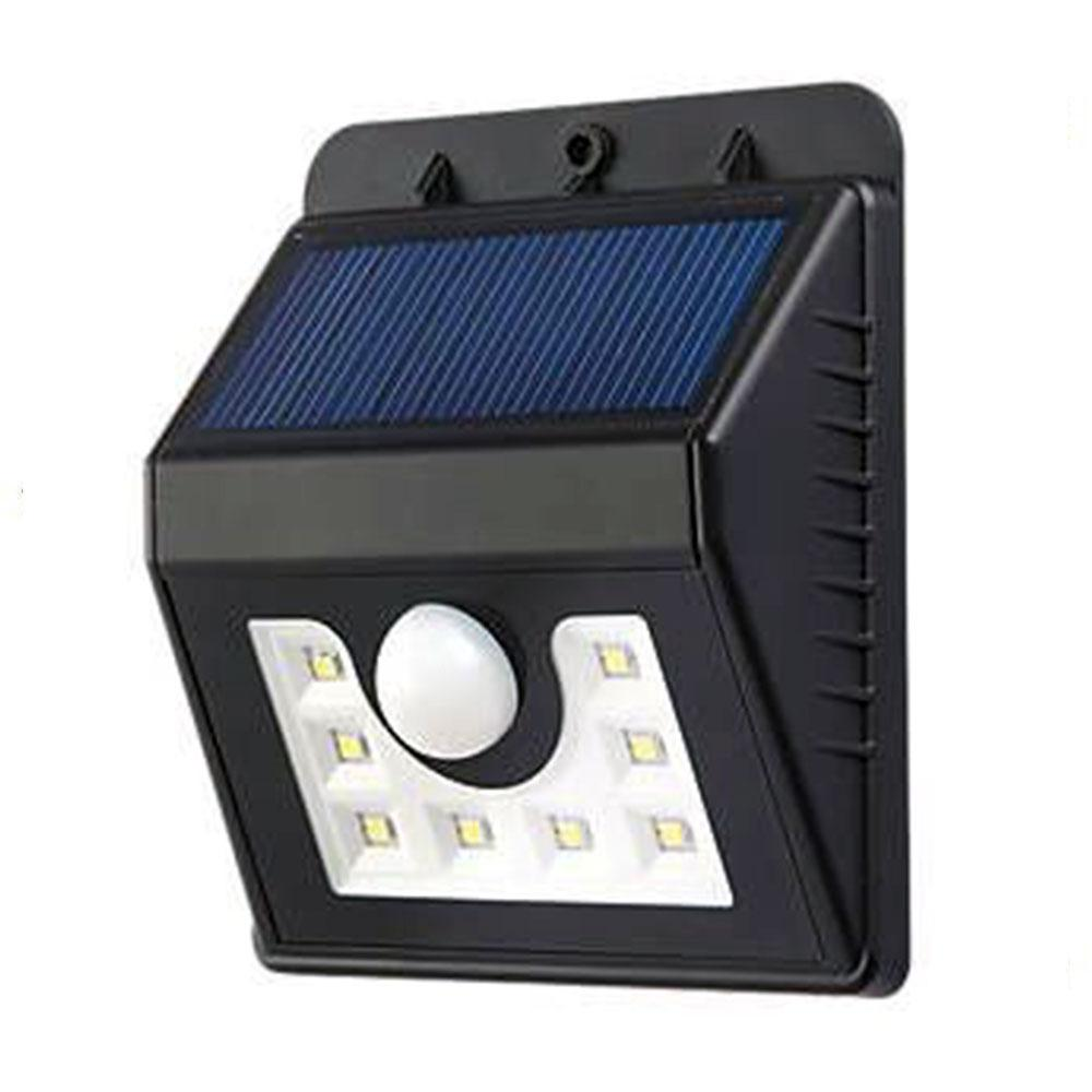 1.6W PIR SOLAR WALL LIGHTS, 200 Lumens, 1200 mAh Battery, 6500K