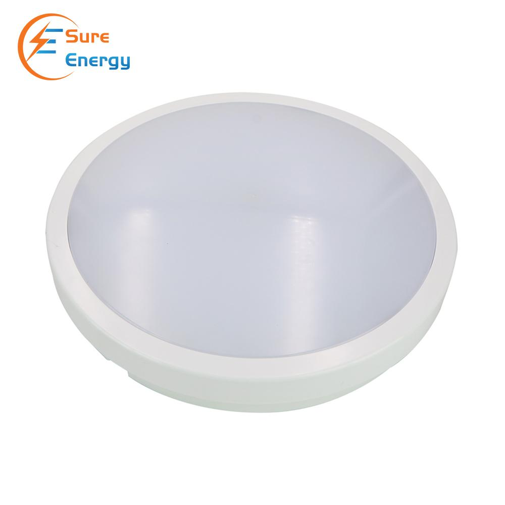 24W LED BULKHEAD with Microwave Sensor, 2040 Lumens, IP54, 4000K