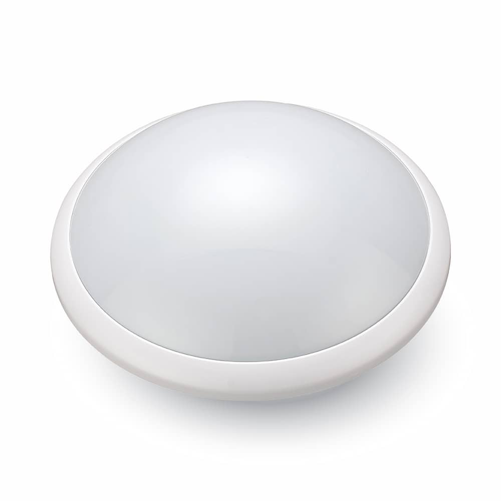 24W LED Bulkhead with Microwave Sensor & Emergency Function IP65 4000K