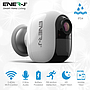 Smart WiFi Battery IP Camera 1080P with 4 pcs AA Battery, IP54