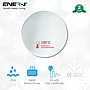 Tempered safety Infrared Heating round mirror panel 360W 850mm dia