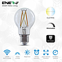 WiFi Smart 8.5W LED Dimmable & CCT Changing Filament E27 Bulb, A60